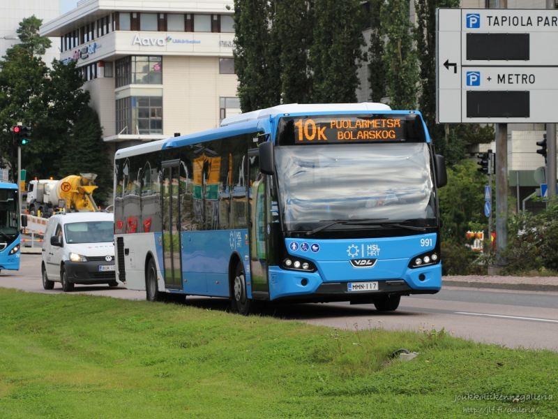 Nobina Finland 991