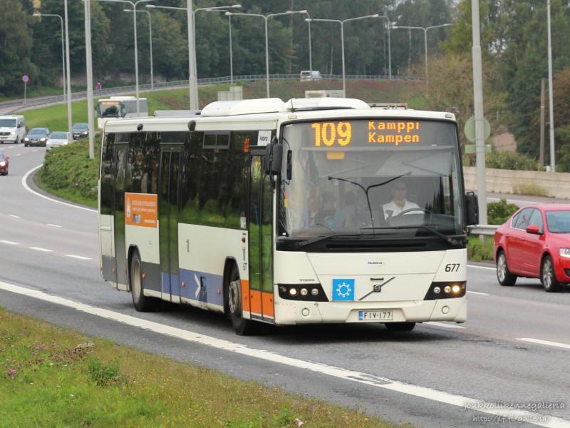 Nobina Finland 677