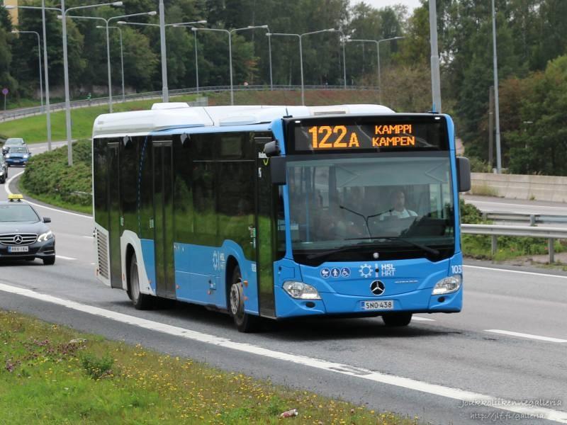 Nobina Finland 1038
