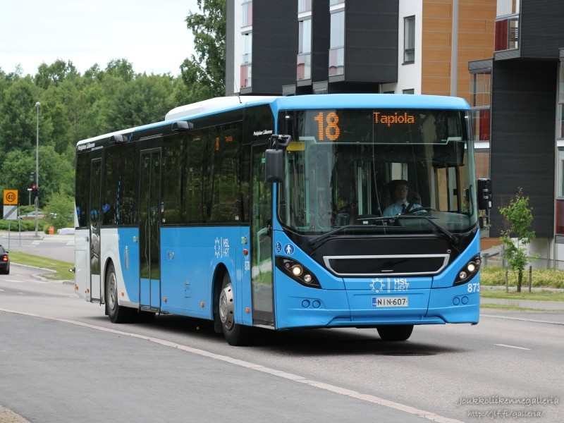 Pohjolan Liikenne 873