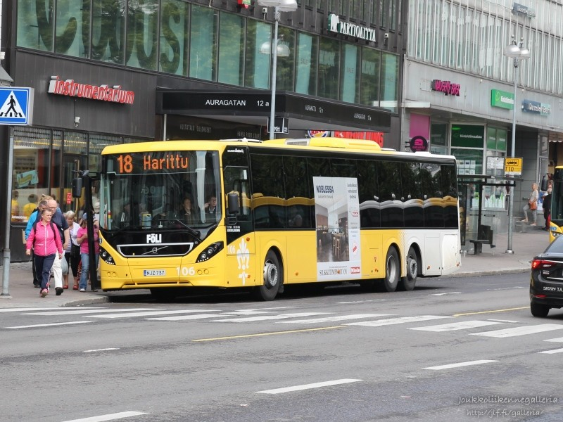 Linjaliikenne Muurinen 106