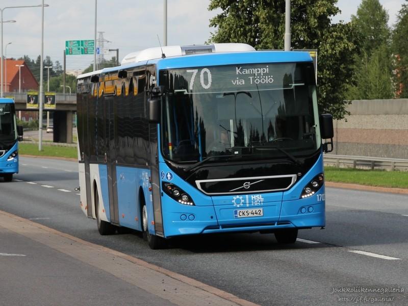Helsingin Bussiliikenne 1702