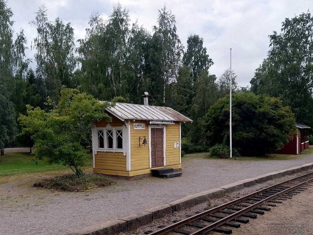 Humppilan rautatieasema, Museorautatie