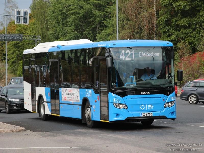 Helsingin Bussiliikenne 1802