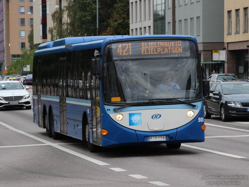 Helsingin Bussiliikenne 905