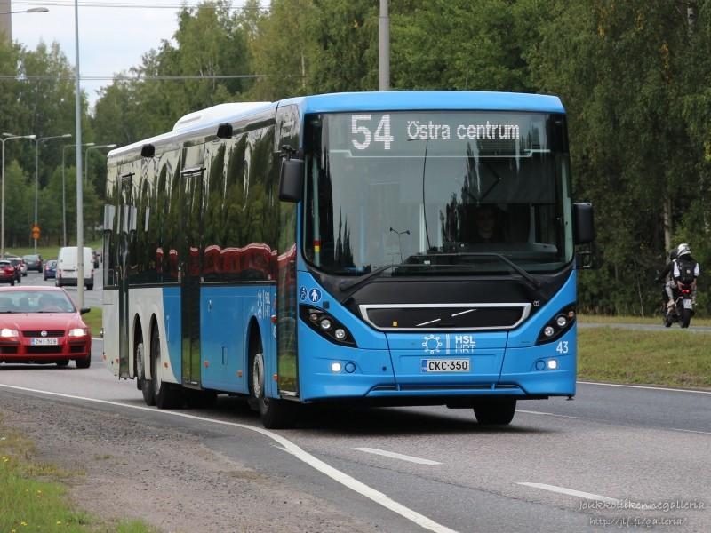 Tammelundin Liikenne 43