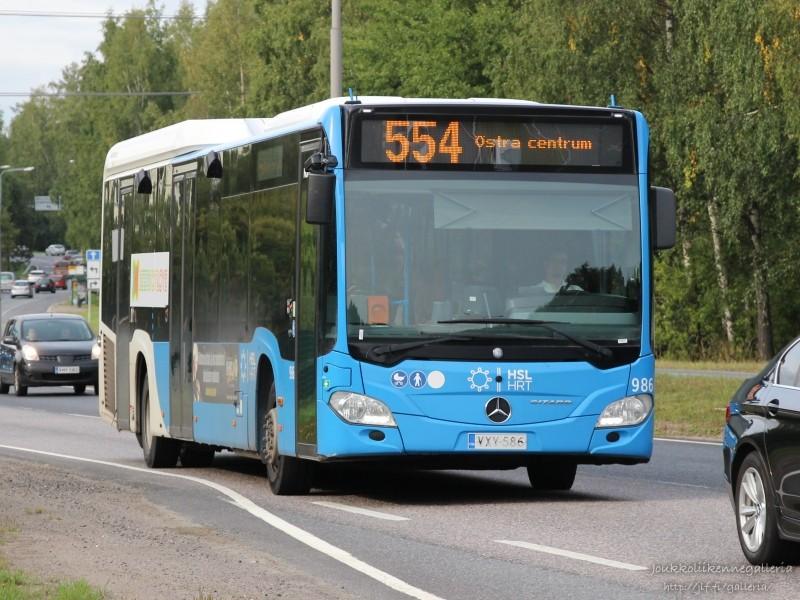 Nobina Finland 986
