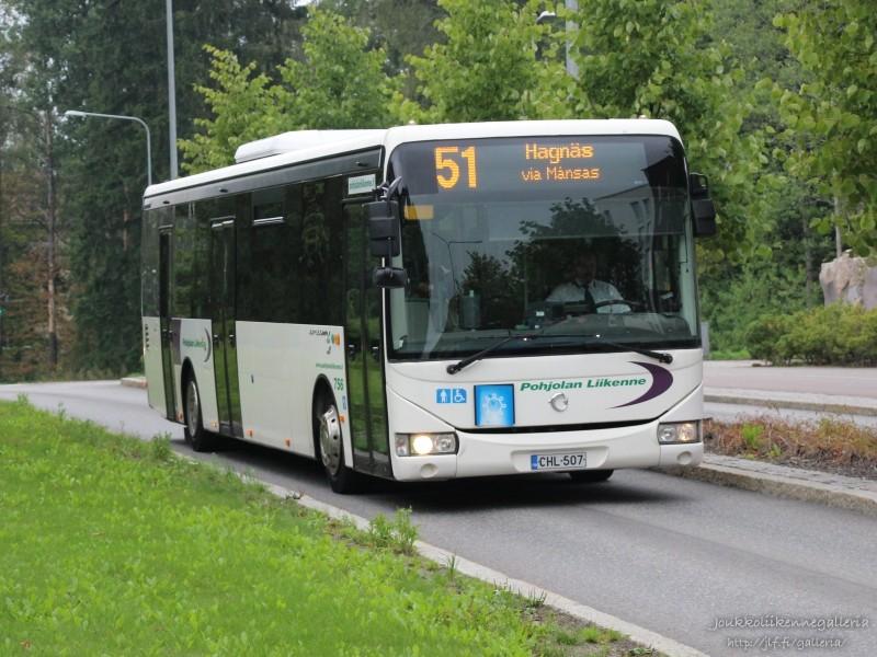 Pohjolan Liikenne 756