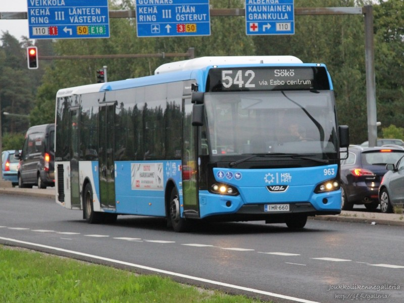Pohjolan Liikenne 963