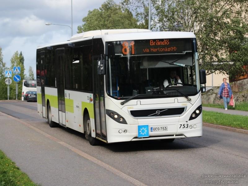 Nobina Finland 753