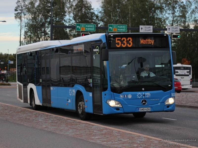Nobina Finland 1026