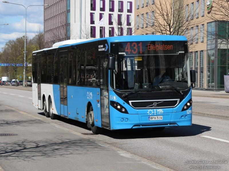 Helsingin Bussiliikenne 1219