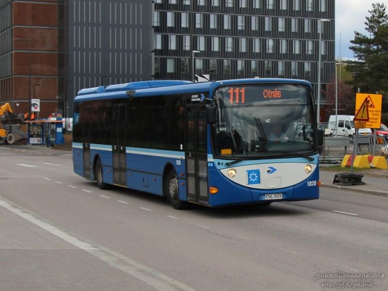 Helsingin Bussiliikenne 1020