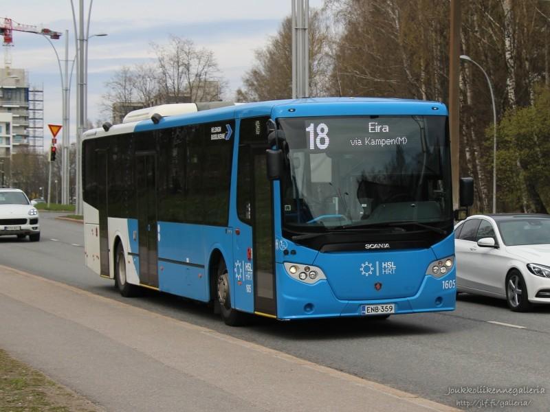 Helsingin Bussiliikenne 1605