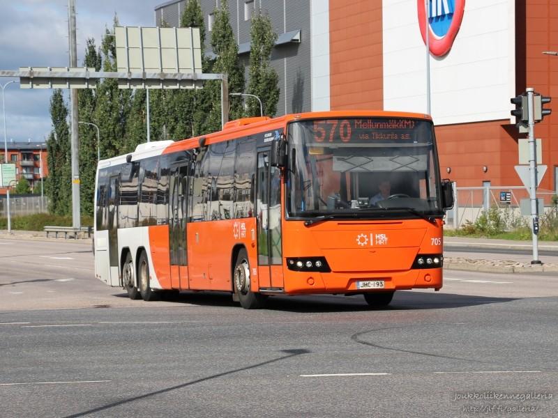 Helsingin Bussiliikenne 705