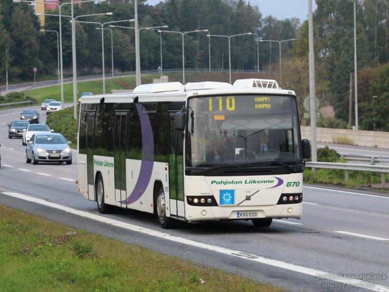 Pohjolan Liikenne 870