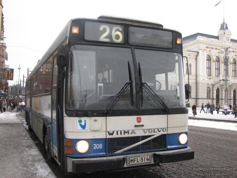 Tampereen kaupungin liikennelaitos 208