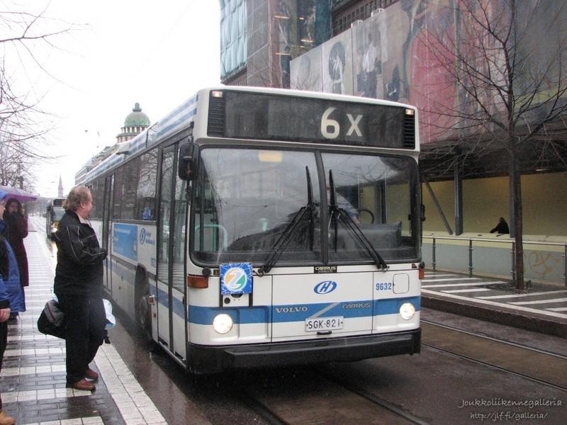 Helsingin Bussiliikenne 9632