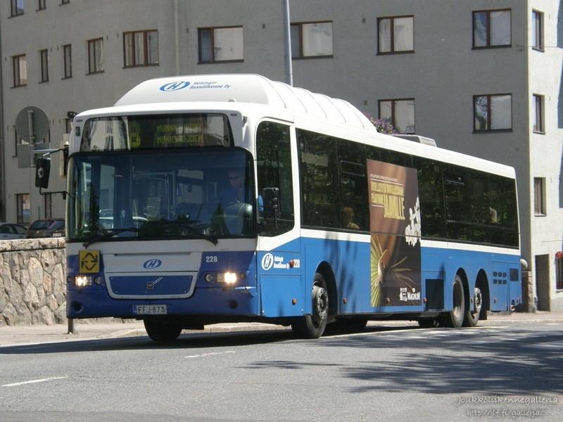 Helsingin Bussiliikenne 228