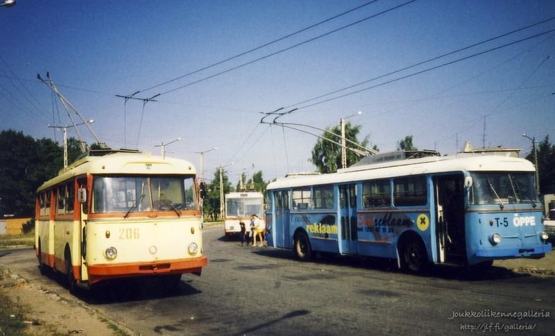 Tallinna Trammi- ja trollibussikoondise AS 206 ja T-5
