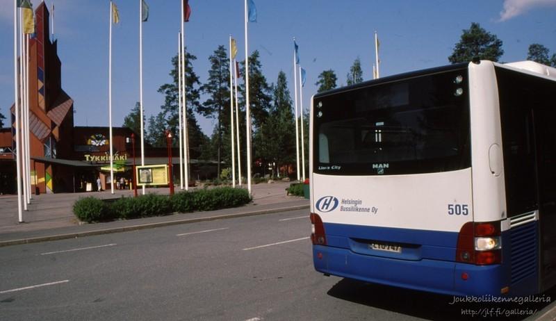 Helsingin Bussiliikenne 505